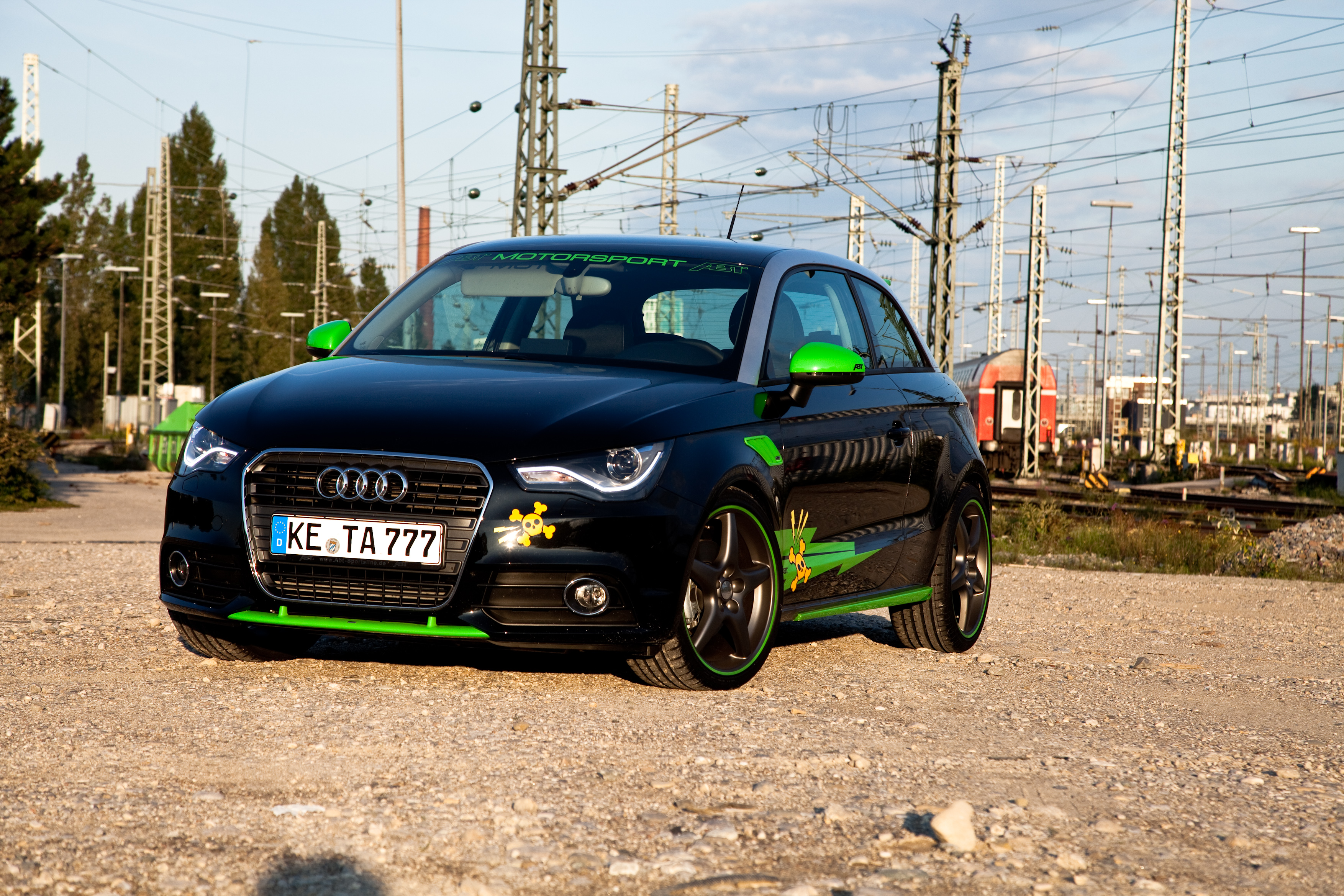 audi a1 chiptuning from abt sportsline. Black Bedroom Furniture Sets. Home Design Ideas