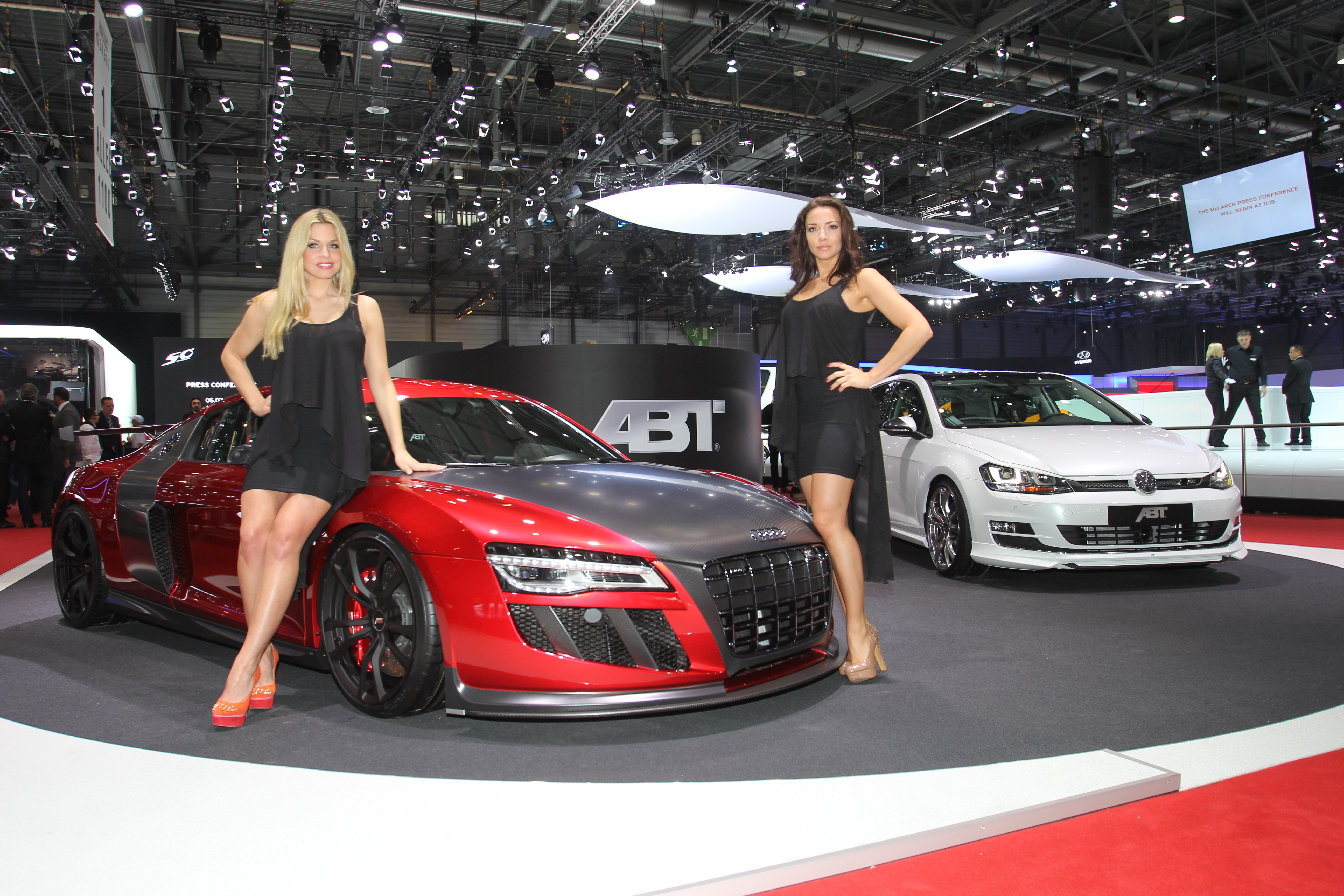With 1,860 hp at the Geneva Motor Show – four new models for 2013