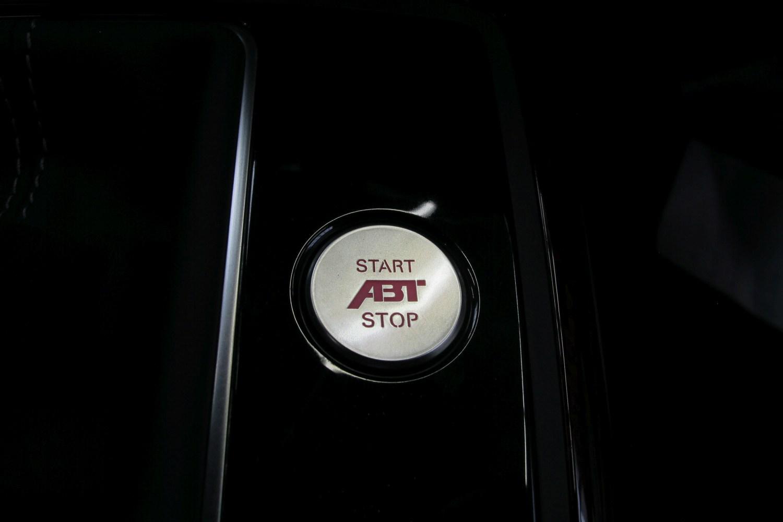 start stop button with abt logo. Black Bedroom Furniture Sets. Home Design Ideas