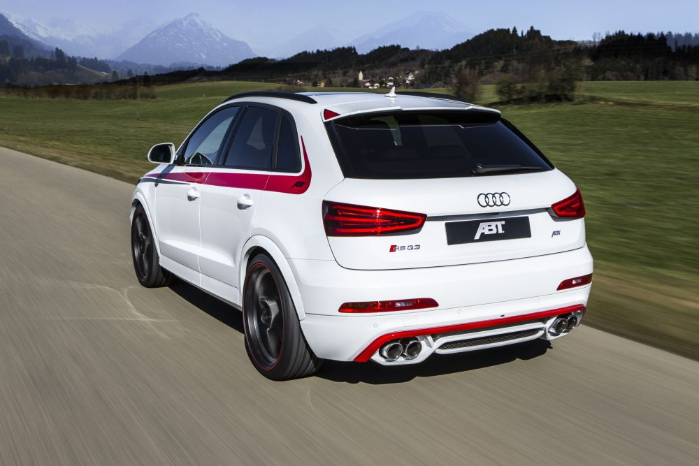 410 Hp In The Abt Rs Q3