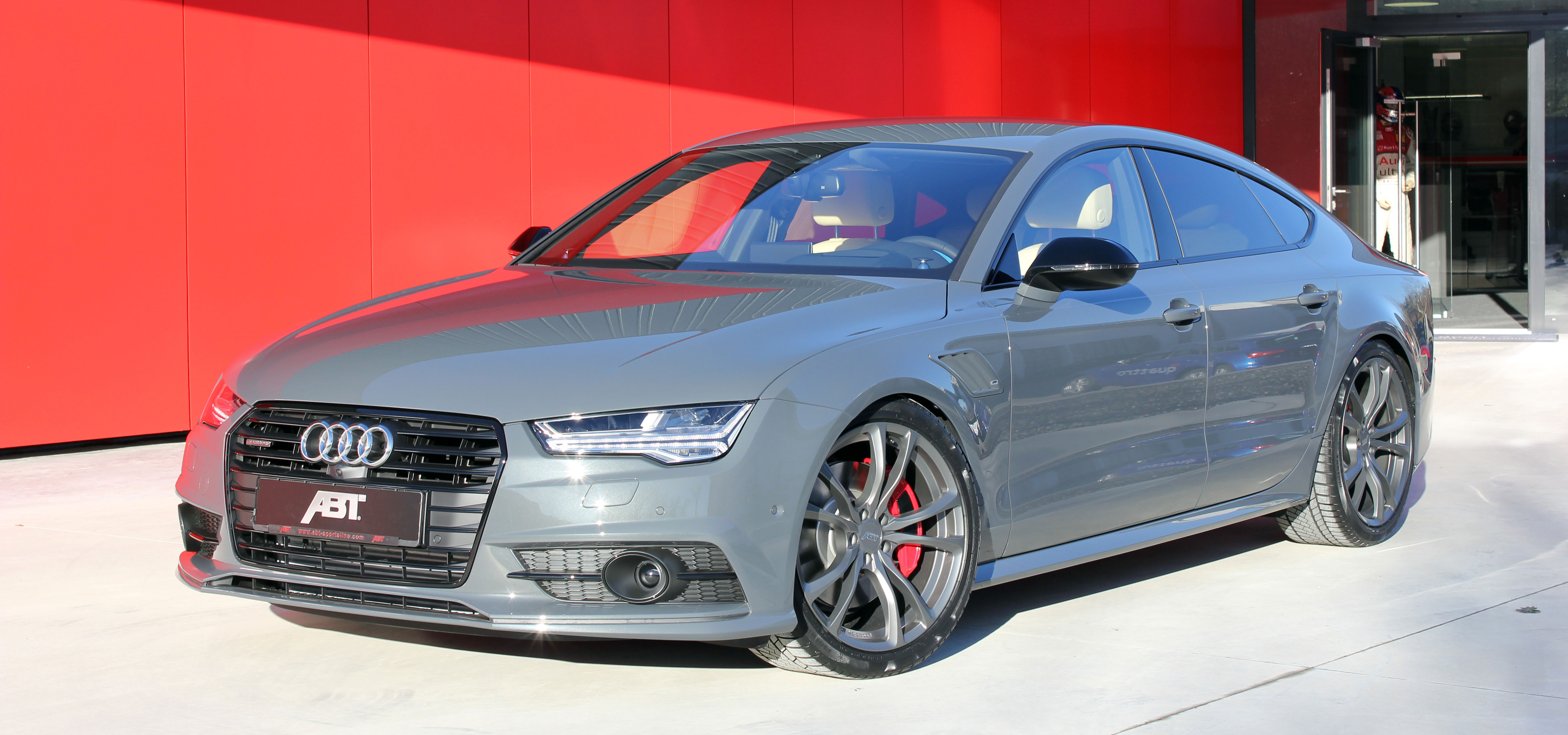 and sharp sportback german muscular icy magazine aggressively is the audi
