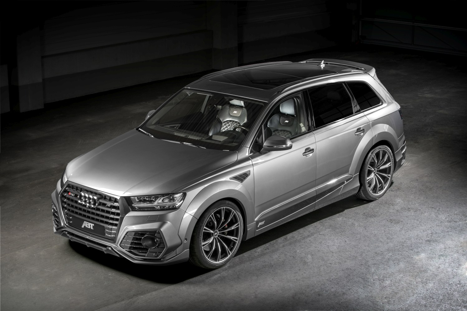 The Abt Sq7 A Super Utility Vehicle