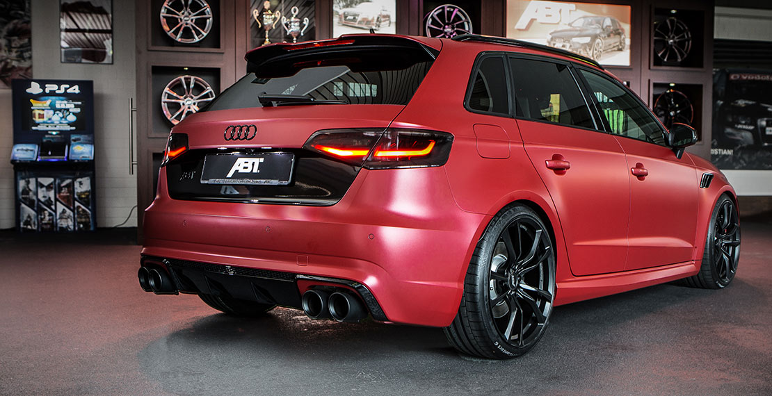 The Abt Audi Rs3 450 Individual