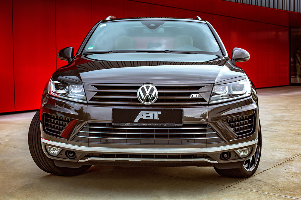 abt touareg with up to 385 hp. Black Bedroom Furniture Sets. Home Design Ideas