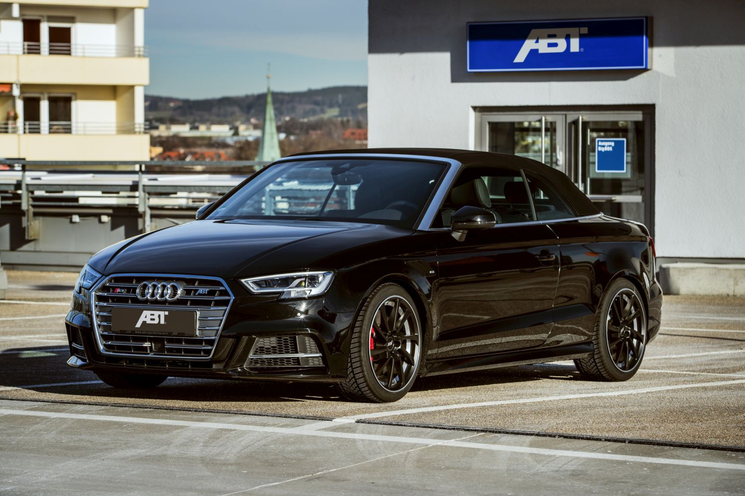abt provides the audi s3 cabrio with up to 400 hp. Black Bedroom Furniture Sets. Home Design Ideas