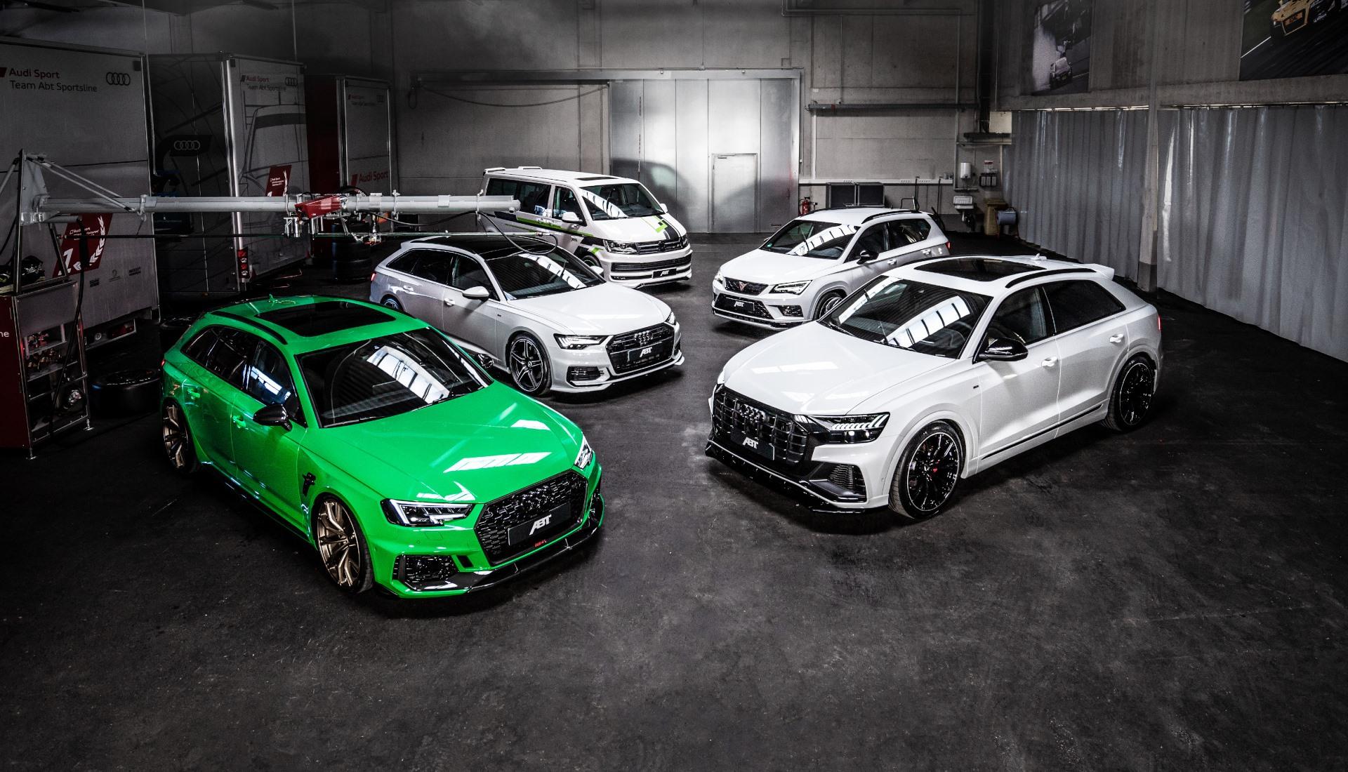 Audi Tuning, VW Tuning, Chiptuning von ABT Sportsline.